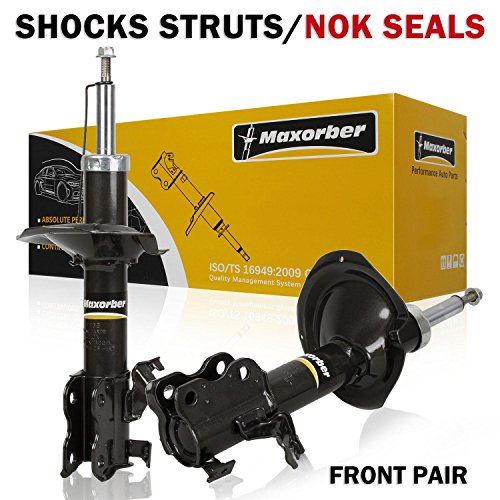 Maxorber Shocks Struts 2000 2001 Infiniti I30 Front Set 334265 334266(Pack of 2 - 2000 Shock I30 Infiniti