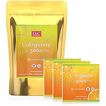 Amazon.com: Dr C L Arginine Powder 390g 5000mg for Cardio ...