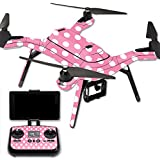 MightySkins Protective Vinyl Skin Decal for 3DR Solo Drone Quadcopter wrap cover sticker skins Mini Dots