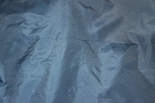 (Light Blue Tissue Taffeta Silk, 100% Silk Fabric, By The Yard, 44