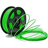 CC DIY - PLA 3.00mm 3D Printer Filament 1kg Spool Dimensional Accuracy +/- 0.02 mm (Green)