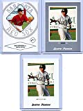(3) DUSTIN PEDROIA 2004 JUST MINORS SILVER EDITION ROOKIE CARD LOT #60! BOSTON RED SOX!