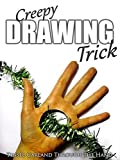 Clip: Creepy Drawing Trick - Tinsel Garland Through the Hand