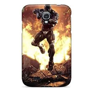 High Grade Mwaerke Flexible Tpu Case For Galaxy S4 - Crysis 2 by supermalls