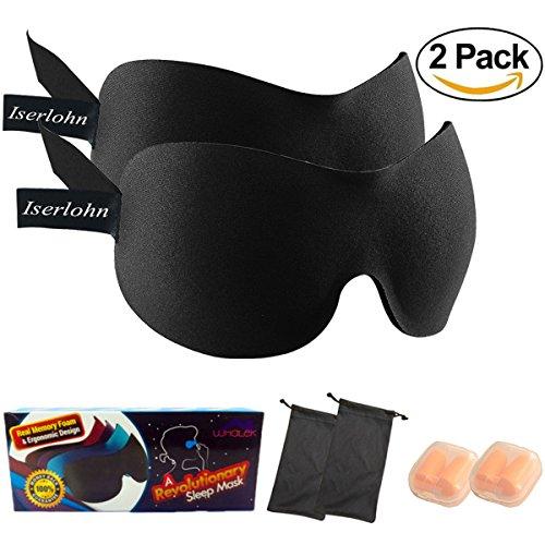 Whalek Contoured Sleeping Blindfold Blinder Eyeshade product image