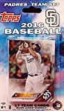 San Diego Padres 2016 Topps Baseball Factory Sealed EXCLUSIVE Special Limited Edition 17 Card Complete Team Set with Matt Kemp & Many More Stars & Rookies! Shipped in Bubble Mailer!