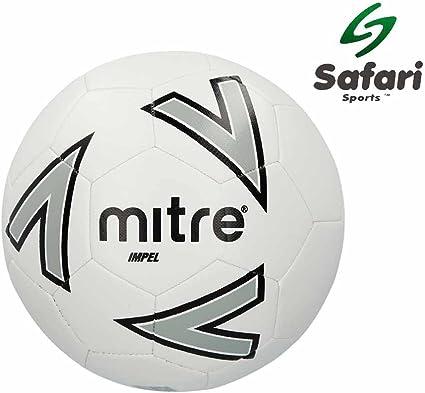 Mitre Impel balón de fútbol, Blanco: Amazon.es: Deportes y aire libre