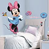 Roommates Rmk1509Gm Minnie Mouse Peel And Stick Giant Wall Decal