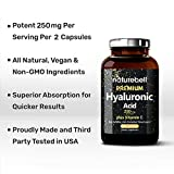NatureBell Hyaluronic Acid Supplements, 250mg