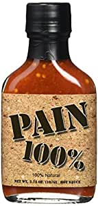 Pain 100% Hot Sauce, 3.75-Ounce Bottle