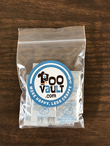 PooVault Odor Absorbent Packets