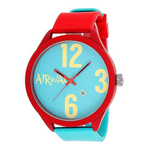 airwalk-analog-turquoise-dial-with-red-and-turquoise-strap-watch