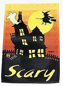 Scary Halloween Garden Flag