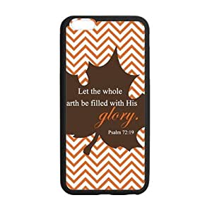 Canting_Good Christian Quote Bible Verses Pattern Print Custom Case for iPhone6 Plus 5.5(Laser Technology)