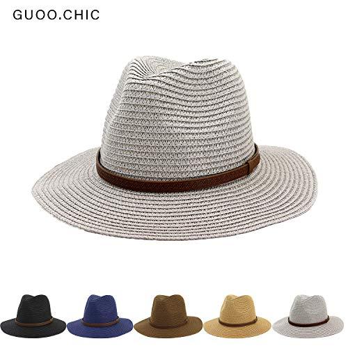 Womens Mini Straw Boater Hat Fedora Panama Flat Top Ribbon Summer Straw hat hat Jazz hat Sunhat