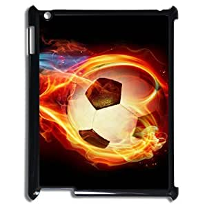 K-G-X Phone case For Ipad 2/3/4 Case Case-Pattern-19 Love Football Protective Back Case