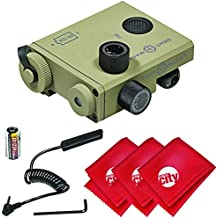 Circuit City Sightmark LoPro Class IIIA High-Power Green Laser Designator Sight w/Microfiber Clothes - Dark Earth (SM25001DE)