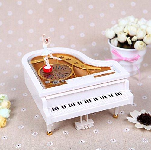 【在庫処分】 urbeauty音楽ボックスピアノ、バレエガールMini Musical Plays Valentine Valentine 's Xmas Xmas 's Childrens誕生日ギフト B077PRR27M, TOPGEAR(トップギア):f099fdc6 --- arcego.dominiotemporario.com