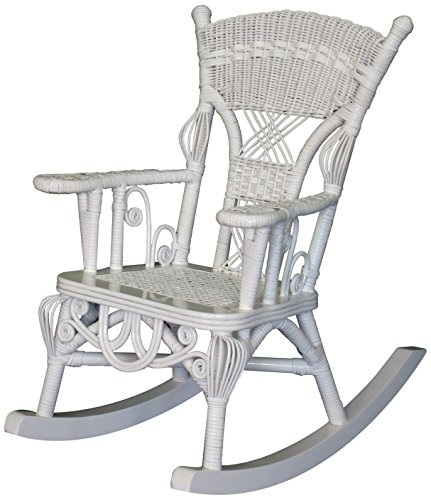 Spice Islands Child's Millie Rocker, White by Spice Islands