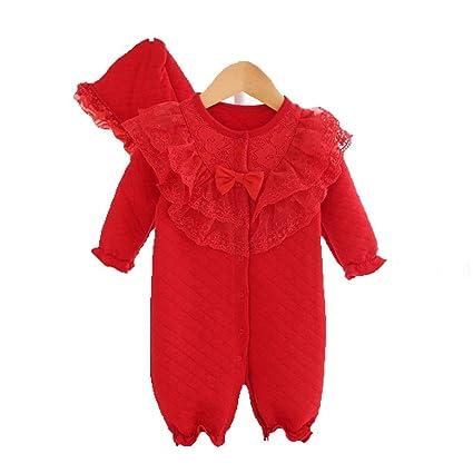 Gleecare Saco de Dormir para bebé,Body de bebé Princesa de algodón Traje Saco Acolchado