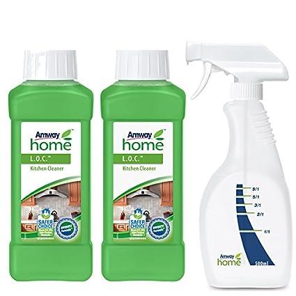 Limpiador de Cocinas LOC-Biodegradable 2 unid y Gatillo