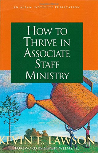 Download How to Thrive in Associate Staff Ministry PDF