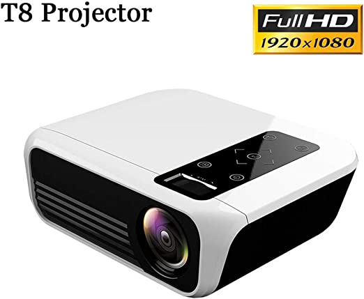 ZDNP Proyector LED, Full HD 24W Android portátil proyector de ...
