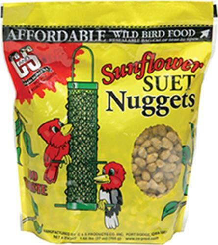 (C & S CS06110 Sunflower Suet Nuggets, 27-Ounce)