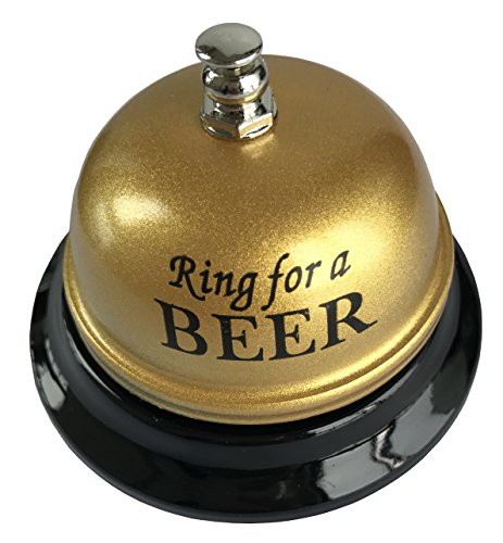 Golden Beer (Do4U Call Ring Bell. The Porter, Kitchen, Restaurant, Bar, Hotel Counter Reception and Classic Concierge Service Hotel Use (golden)