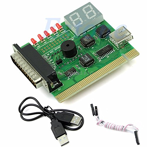 PrinceShop - 1PC USB PCI PC Notebook Laptop Analyzer Motherboard Diagnostic POST Card Z17