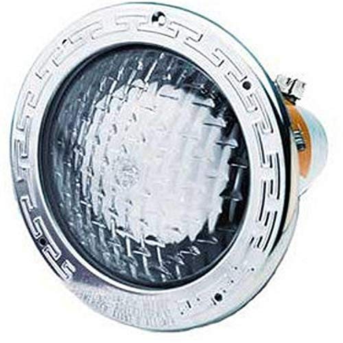 Pentair 78444200 Amerlite Underwater Incandescent Pool Light with Stainless Steel Face Ring and Medium Blue Lens, 120 Volt, 30 Foot Cord, 400 Watt