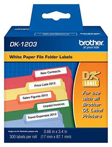 Top File Folder Labels