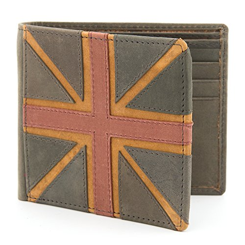 Union Leather Navy RFID Men's Navy Wallet with Jack Protection qCEwdE4n