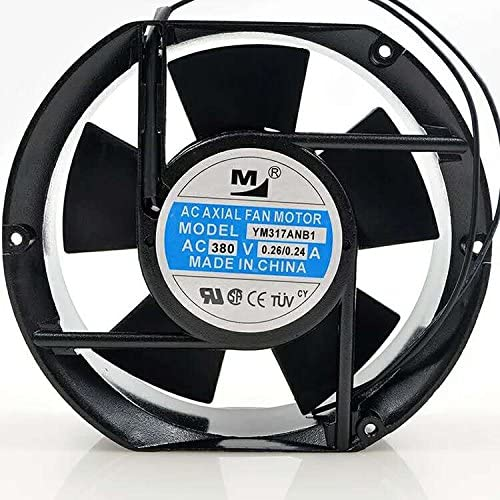 For YM317ANB1 380V 0.26A 17251 172 172 51MM 17CM Cabinet fan
