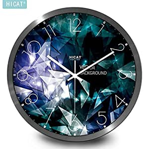 Jiaa Wall Clock For Living Room Stunning Silence Quartz Home Decor 14 Inch Sports