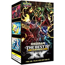 "Pokemon Cards High Class Pack ""THE BEST OF XY"" Booster Box 10 Pack (Korean Ver)"