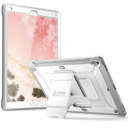 SUPCASE Unicorn Beetle Pro Series Case for iPad Pro 12.9 Case 2017, [Heavy Duty] Full-Body Rugged Protective Case Without Screen Protector for Apple iPad Pro 12.9 Inch 2017, Not Fit 2018 Version (Whit