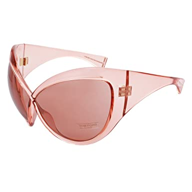 00181abd916 Image Unavailable. Image not available for. Color  Tom Ford Designer FT0219  72Y Daphne Pink Women Sunglasses