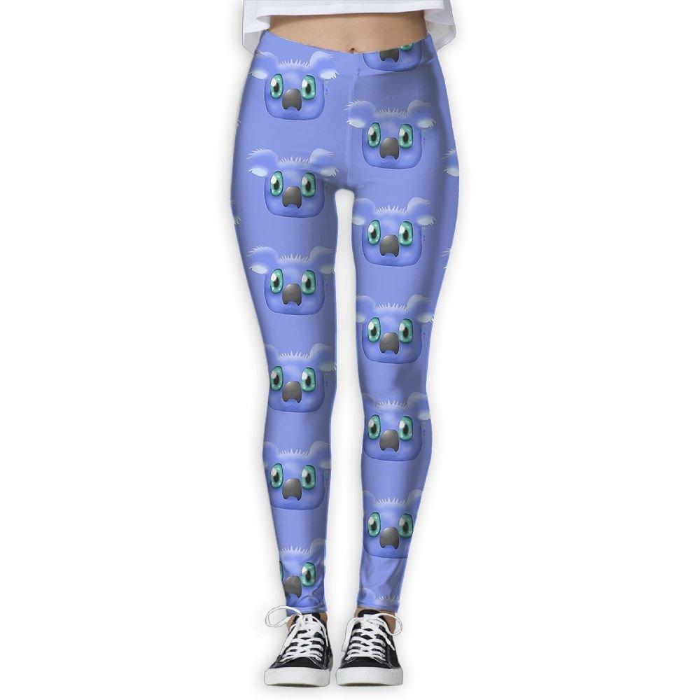 abd78dc79b6786 Ninena Chy Koala Face Womens Comfort Yoga Leggings Patterned Workout  Leggings Jogger Pants For Gym Home Outdoor Size !  5WarK0209703  -  32.99
