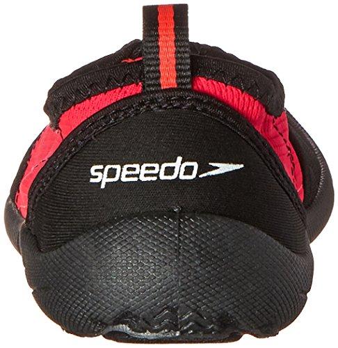 Scarpa Acqua Speedo Womens Zipwalker 4.0 Nero / Rosa Caldo