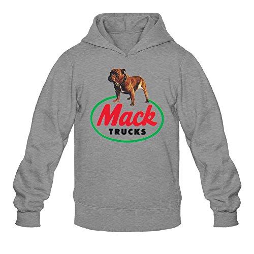 Niceda Men's Mack Trucks Long Sleeve Sweatshirts (Dungeon Wear Halloween)