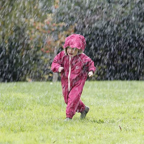 Splashsuit Essential Outdoor Clothing Snowsuit for Kids HIPPYCHICK Waterproof Fleeced Lined One Piece Coverall
