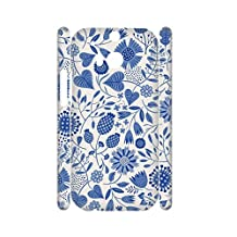 For One M8 Htc Design Blue And White Porcelain 3 Guy Phone Case Beautiful Abs