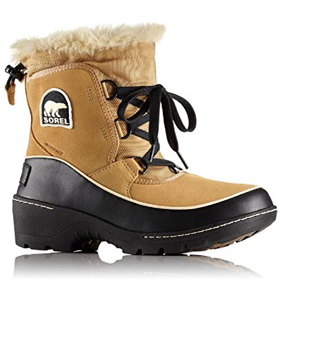SOREL Women's Tivoli III Waterproof Boot Curry/Black Size 9 M US by SOREL