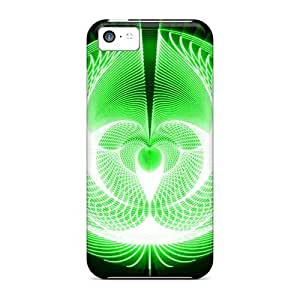 linJUN FENGAwesome Case Cover/iphone 4/4s Defender Case Cover(vector - Emerald Phoenix)