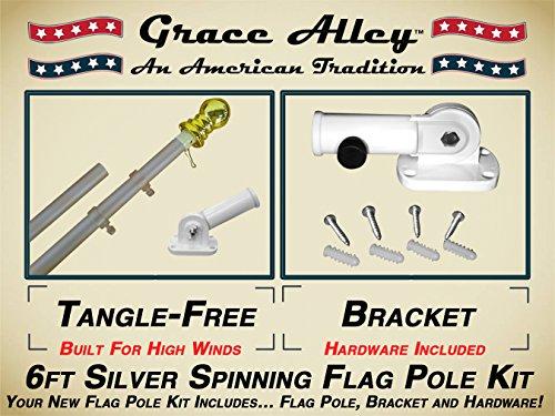 Flag Pole Kit Residential Commercial