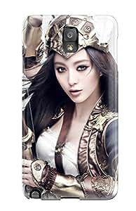 High Grade ThomasSFletcher Flexible Tpu Case For Galaxy Note 3 - Beautiful Warrior