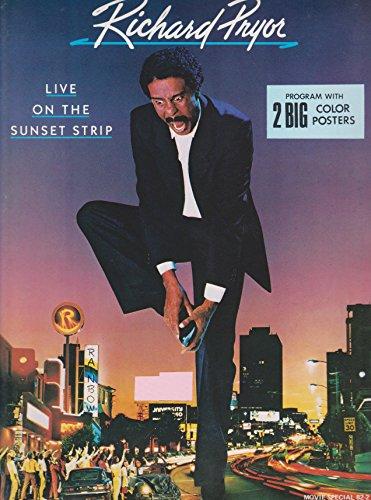 Richard Pryor Live on the Sunset Strip 1982 Original Movie Program - NOT A DVD