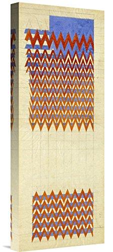 Global Gallery Budget GCS-268268-22-142 Charles Rennie Mackintosh Fabric Design 1916