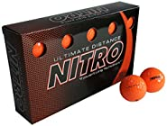 Nitro Ultimate Distance Golf Ball (15-Pack) (Renewed)